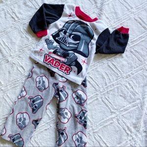 Star Wars Darth Vader Toddler PJ Set Fleece